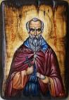 Рисувана икона на Св. Максим Изповедник