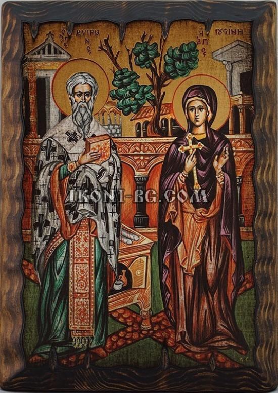 Икона на Св. Киприан и Св....