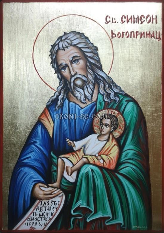 Рисувана икона на Свети...
