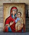 Рисувана икона Св. Богородица Пътеводителка
