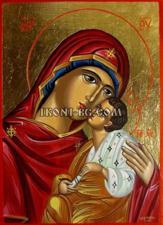 Рисувана икона на Света...