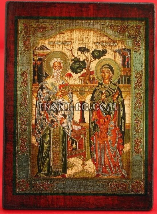 Икона Св. Киприан и Св....