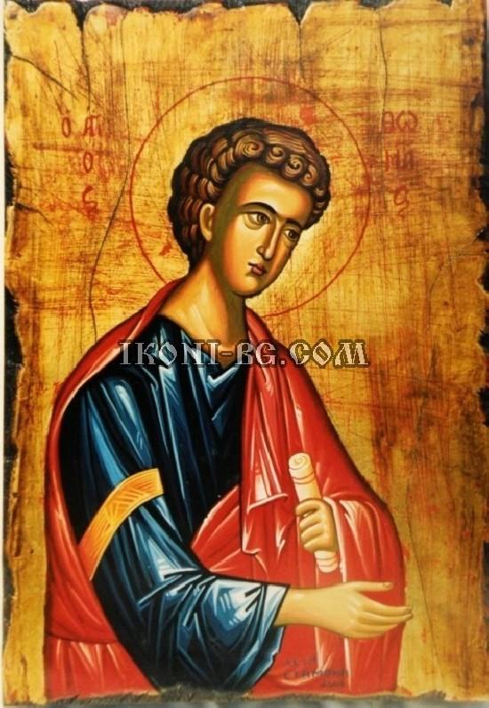Рисувана икона на Свети Тома