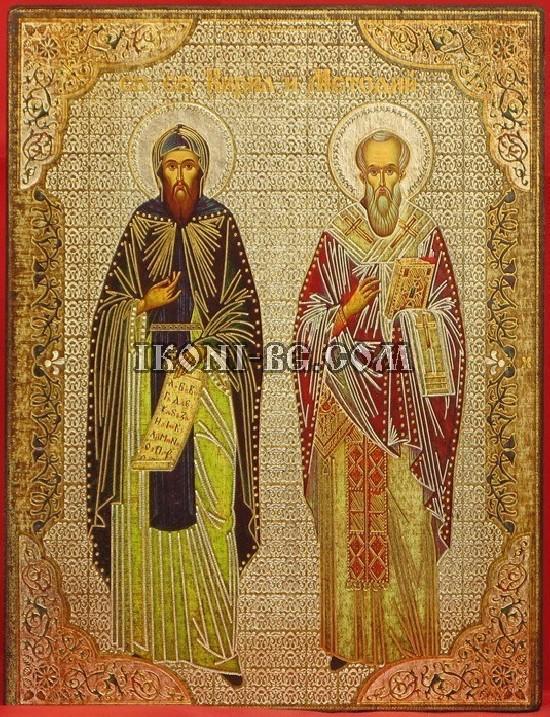 Икона на Св. Св. Кирил и...