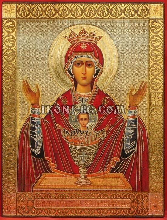 Света Богородица Неупиваемая чаша