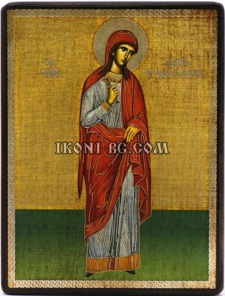 Икона св. Мария Магдалина