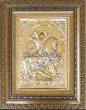 Сребърна икона Св. Георги