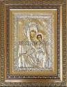 Сребърна икона Св. Богородица