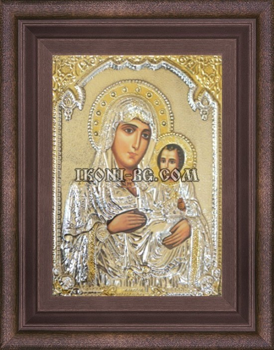 Сребърна икона на Света Богородица Йерусалимска