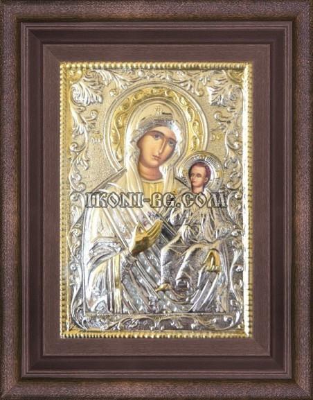 Сребърна икона на Света Богородица Одигитрия