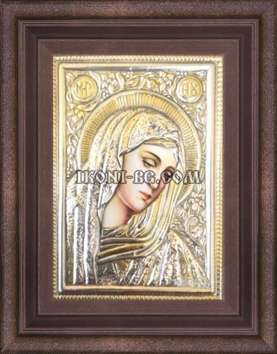 Сребърна икона на Света Богородица Печална