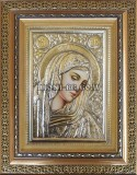 Сребърна икона Света Богородица Печална