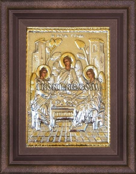 Сребърна икона Света Троица