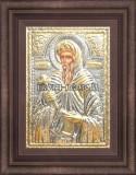 Сребърна икона Свети Антоний