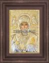Сребърна икона Свети Никола