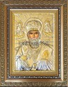 Сребърна икона на Свети Никола