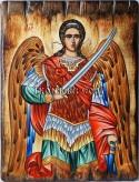 Рисувана икона на Св. Архангел Михаил