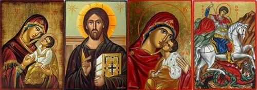 Рисувани икони