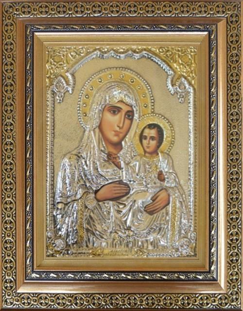 Сребърни икони на Света Богородица | ИКОНИ-БГ